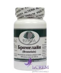 Пищевая добавка Бромелайн, 100 капсул