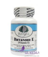 Пищевая добавка Витамин Е, 100  капсул