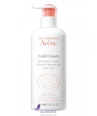 Avene Колд-крем Гель для очищения сухой чувствительной кожи тела, 400 мл