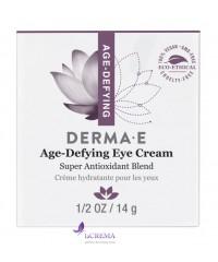 Derma E Age-Defying  Антивозрастной крем для кожи вокруг глаз, 14 г