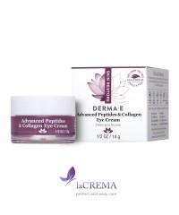 Derma E Восстанавливающий крем вокруг глаз с пептидами и коллагеном, 14 г