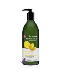 Avalon Organics Лосьон для рук и тела освежающий
