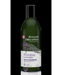 Avalon Organics Гель для ванны и душа питательный