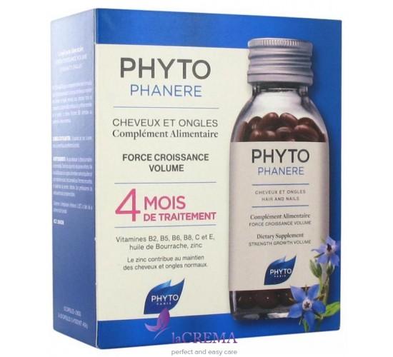 Phyto Витамины для волос и ногтей ФитоФанер, 120 капсул/240 капсул