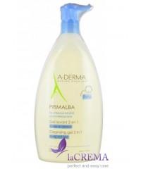 А-Дерма Примальба Гель для душа для атопичной кожи - Aderma Primalba Cleansing Gel, 500 мл
