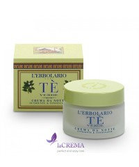 Лерболарио Ночной крем Зелёный Чай -  L'Erbolario, 50 мл