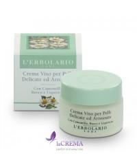 Лерболарио Крем для чувствительной кожи Ромашка и Иглица -  L'Erbolario, 50 мл