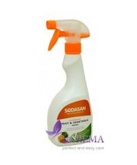 SODASAN Средство для мытья овощей, 0,5 л