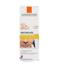 La Roche-Posay Антгелиос Солнцезащитный тонирующий крем SPF 50 при гиперпигментации кожи, 50 мл