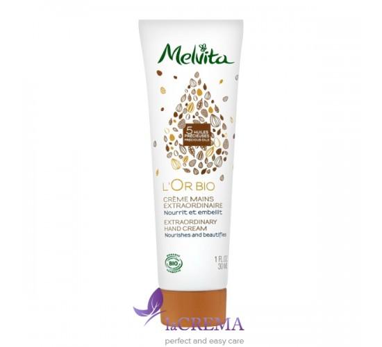 Melvita Крем для рук - L'Or Bio Extraordinary Hand Cream, 30 мл
