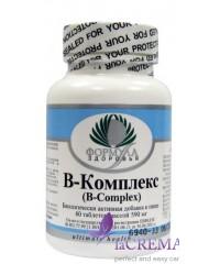 Пищевая добавка В-Комплекс, 60 таблеток