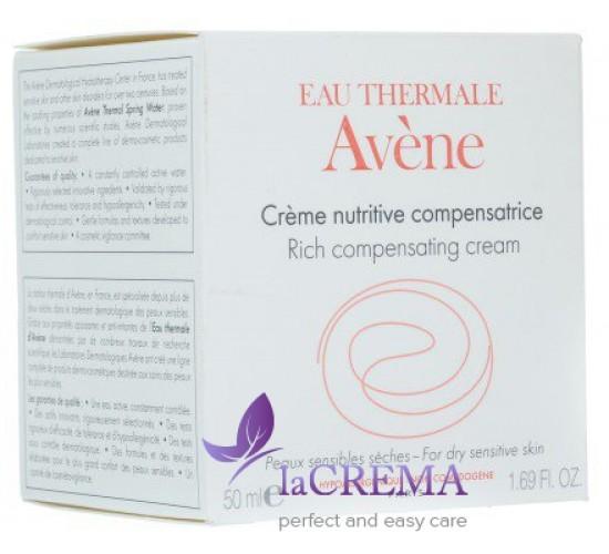 Avene Питательный компенсирующий крем для восстановления гидробаланса сухой чувствительной кожи