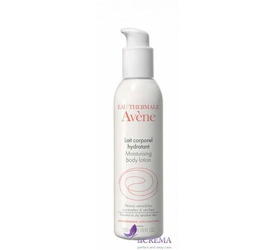 Avene Молочко для увлажнения сухой и нормальной кожи тела, 200 мл