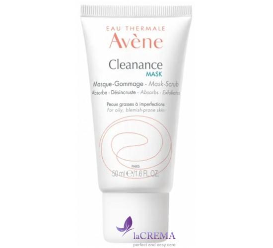 Avene Клинанс Маска-гоммаж абсорбирующая для глубоко очищения проблемной кожи, 50 мл