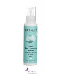 Derma E Сыворотка для защиты волос 3-в-1, 56 г