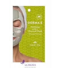 Derma E Purifying Очищающая угольная маска одноразового использования