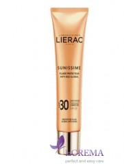 Лиерак Саниссим Солнцезащитный флюид для лица SPF50 - Lierac Sunissime Fluid, 40 мл