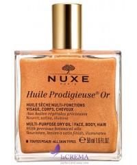 Нюкс Продижьез Масло сухое золотое для лица, тела- Nuxe Prodigieux, 50 мл