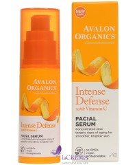 Avalon Organics Сыворотка для кожи лица с витамином С - Facial Serum Intense Defense