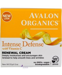 Avalon Organics Крем восстанавливающий с витамином С - Renewal Cream Intense Defense