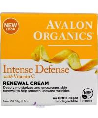 Avalon Organics Крем восстанавливающий с витамином С - Renewal Cream Intense Defense