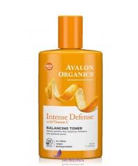 Avalon Organics Тоник балансирующий с витамином С - Balancing Toner Intense Defense