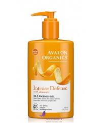 Avalon Organics Гель для умывания с витамином С - Cleansing Gel Intense Defense