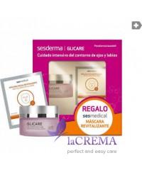 Sesderma Набор для лица: Glycare Гель для контура глаз и губ, 30 мл + Маска SESMEDICAL