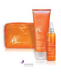 Eva Professional E-Line Набор в подарочной упаковке (шампунь и защитное масло от солнечных лучей)