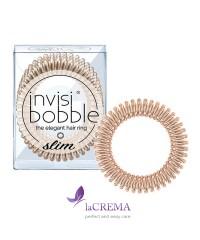 Invisibobble Резинка-браслет для волос Slim Bronze Me Pretty, 3 шт
