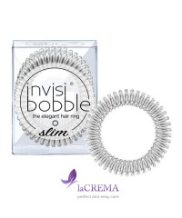 Invisibobble Резинка-браслет для волос Slim Sweet Chrome, 3 шт