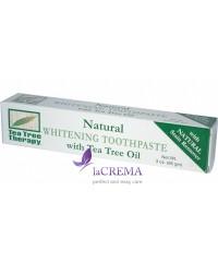 Tea Tree Therapy Отбеливающая зубная паста с маслом чайного дерева, 85 г