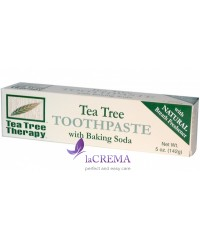 Tea Tree Therapy Зубная паста с питьевой содой и маслом чайного дерева, 142 г