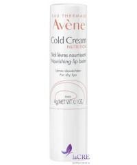 Avene Колд-крем Бальзам для губ для сухой и очень сухой кожи - Avène Cold Cream Lip Balm, 4 г