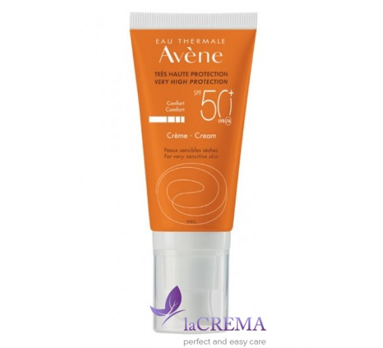 Avene Солнцезащитный крем SPF 50+ для очень чувствительной кожи Авен Комфорт, 50 мл