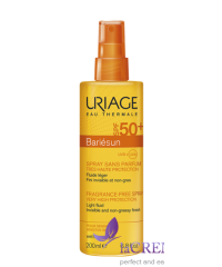 Uriage Солнцезащитный спрей Bariesun SPF 50, 200 мл