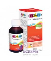 Pediakid Сироп для повышения гемоглобина и снятия усталости:Фер + витамины В, 125 мл