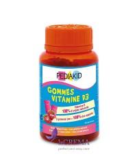 Pediakid Медвежуйки Витамин D3  - PEDIAKID GOMMES VITAMINE D3, 60 шт