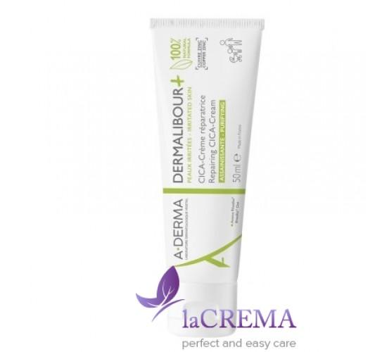 А-Дерма Дермалибур Крем антибактеральный - Dermalibour+ Repairing Cream, 50 мл
