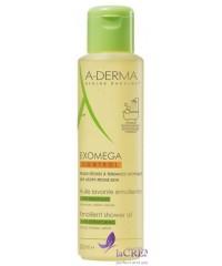 А-Дерма Экзомега Масло для душа очищающее при атопическом дерматите - Exomega Cleansing Oil, 500 мл