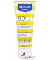 Мустела Детский солнцезащитный лосьон - Mustela SPF+50, 40 мл