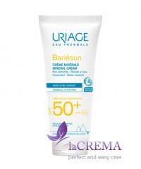 Uriage Солнцезащитный минеральный крем Bariesun SPF 50+ для лица и тела, 100 мл