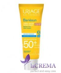 Uriage Солнцезащитный тональный крем Bariesun SPF 50+ для лица, 50 мл