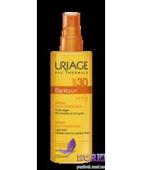 Uriage Солнцезащитный спрей Bariesun SPF 30 для лица и тела, 200 мл