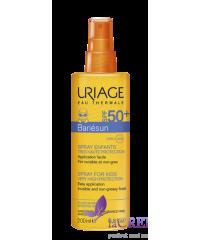 Uriage Солнцезащитный спрей Bariesun SPF 50 для детей, 200 мл
