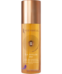 Keenwell Мультизащитное сухое масло для загара SPF 30, 150 мл