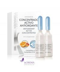 Keenwell Biological Оксидантная сыворотка для сияния кожи с витамином С, 2*4 мл