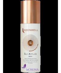Keenwell Мультизащитная вода для загара с SPF 15, 150 мл