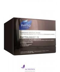 Фито Средство против выпадения волос Фитоложист 15 - Phyto Phytologist 15, 12Х3,5 мл