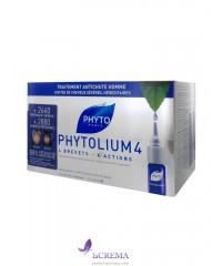 Фито Фитолиум 4 Концентрат против выпадения волос для мужчин - Phyto Phytolium, 12Х3,5 мл